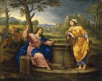 P.Mignard, Christus und die Samariterin by AKG  Images