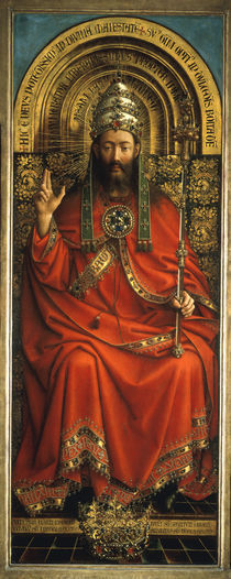 Gottvater / Jan van Eyck, Genter Altar by AKG  Images