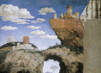 Mantegna, Cam.d.Sposi, Landschaft by AKG  Images