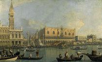 Canaletto, Dogenpalast und Markusplatz by AKG  Images