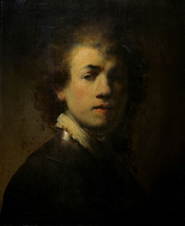 Rembrandt, Selbstbildnis mit Halsberge von AKG  Images