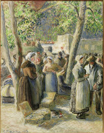 C.Pissarro, Der Markt in Gisors by AKG  Images