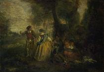 Antoine Watteau, Laendliche Freuden von AKG  Images