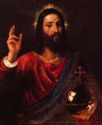 Tizian, Segnender Christus by AKG  Images