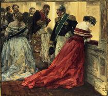 A.v.Menzel, Ballszene/ 1867 by AKG  Images