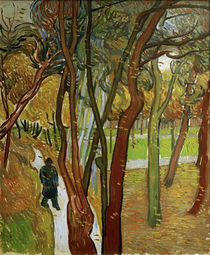 V.van Gogh, Spaziergaenger im Park von AKG  Images