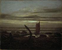 C.D.Friedrich, Abend an der Ostsee/1825 von AKG  Images