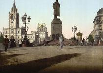 Moskau, Puschkinplatz von AKG  Images