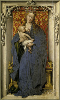 Rogier van der Weyden, Maria mit Kind von AKG  Images