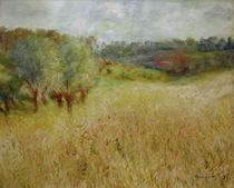 Auguste Renoir, Das Kornfeld by AKG  Images