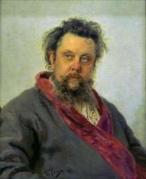 Modest Mussorkskij / Gem.v.Repin von AKG  Images