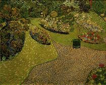 V.v.Gogh, Garten in Auvers von AKG  Images