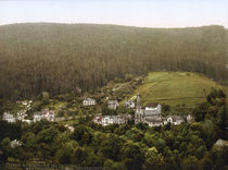 Wildbad, Villenvorort / Photochrom by AKG  Images