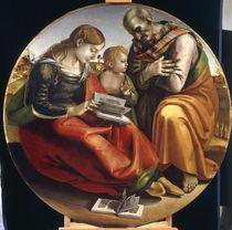 L.Signorelli, Heilige Familie by AKG  Images