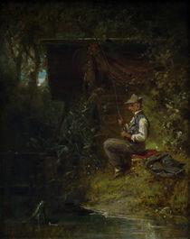 C.Spitzweg, Der Angler by AKG  Images