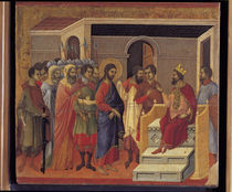 Duccio, Christus vor Herodes von AKG  Images
