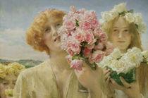 L.Alma Tadema, Die Gaben des Sommers von AKG  Images