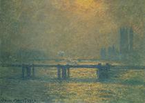 Claude Monet, Charing Cross Bridge von AKG  Images