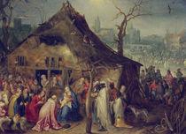 J.Brueghel d.Ae., Anbetung der Koenige von AKG  Images
