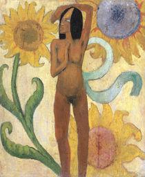 P.Gauguin, Nackte Frauenfigur von AKG  Images