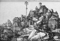 Duerer, Hl.Antonius vor der Stadt by AKG  Images