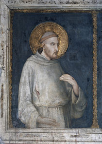Simone Martini, Franz von Assisi by AKG  Images