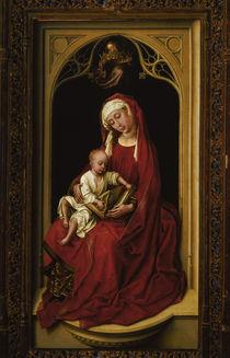 Rogier van der Weyden, Maria mit Kind by AKG  Images