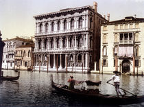 Venedig, Ca'Rezzonico / Photochrom von AKG  Images