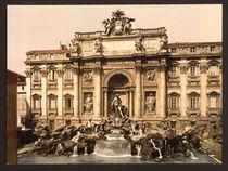 Rom, Fontana di Trevi / Photochrom by AKG  Images