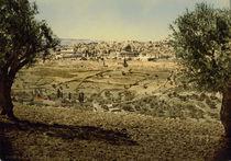 Jerusalem, Stadtansicht / Photochrom by AKG  Images