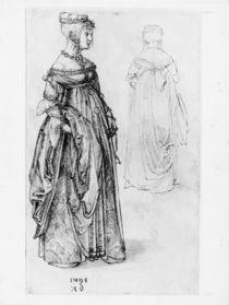 A.Duerer, Frau in venezian.Kostuem von AKG  Images