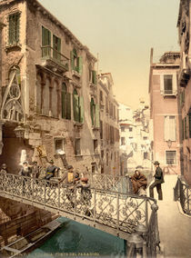 Venedig, Ponte del Paradiso / Photochrom by AKG  Images