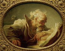 J. H.Fragonard, Les.alt.Mann (Philosoph) by AKG  Images