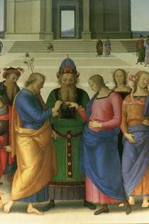 Perugino, Vermaehlung Mariae von AKG  Images