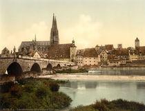 Regensburg, Steinerne Bruecke von AKG  Images