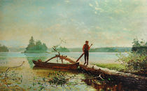 Winslow Homer, in See in den Adirondacks by AKG  Images