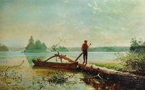 Winslow Homer, in See in den Adirondacks von AKG  Images