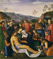 Perugino, Beweinung Christi by AKG  Images