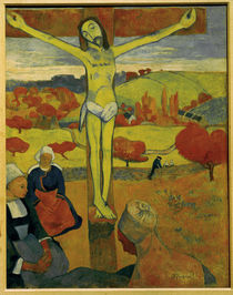 Paul Gauguin, Der gelbe Christus by AKG  Images