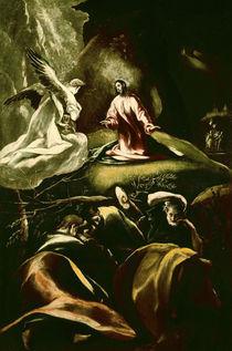 El Greco/ Christus am Oelberg von AKG  Images