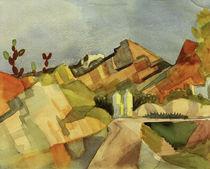 A.Macke, Felsige Landschaft von AKG  Images