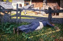 G.Segantini, Schlaf im Schatten von AKG  Images