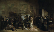Courbet, Das Atelier by AKG  Images