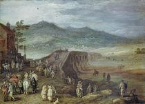 Jan Brueghel d.Ae., Bruecke zu Talavera von AKG  Images
