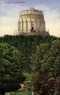 Kelheim, Befreiunghalle / Postkarte 1913 von AKG  Images