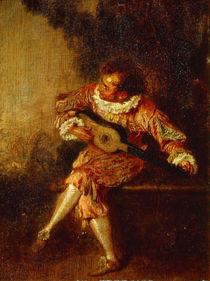 Watteau, Der Serenadenspieler by AKG  Images