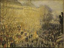 C.Monet, Boulevard des Capucines by AKG  Images
