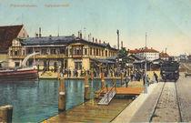 Friedrichshafen, Hafenbahnhof/ Postkarte by AKG  Images