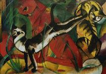 Franz Marc, Drei Katzen/1913 by AKG  Images