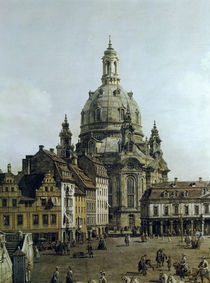 Dresden, Neumarkt, Detail / Bellotto by AKG  Images